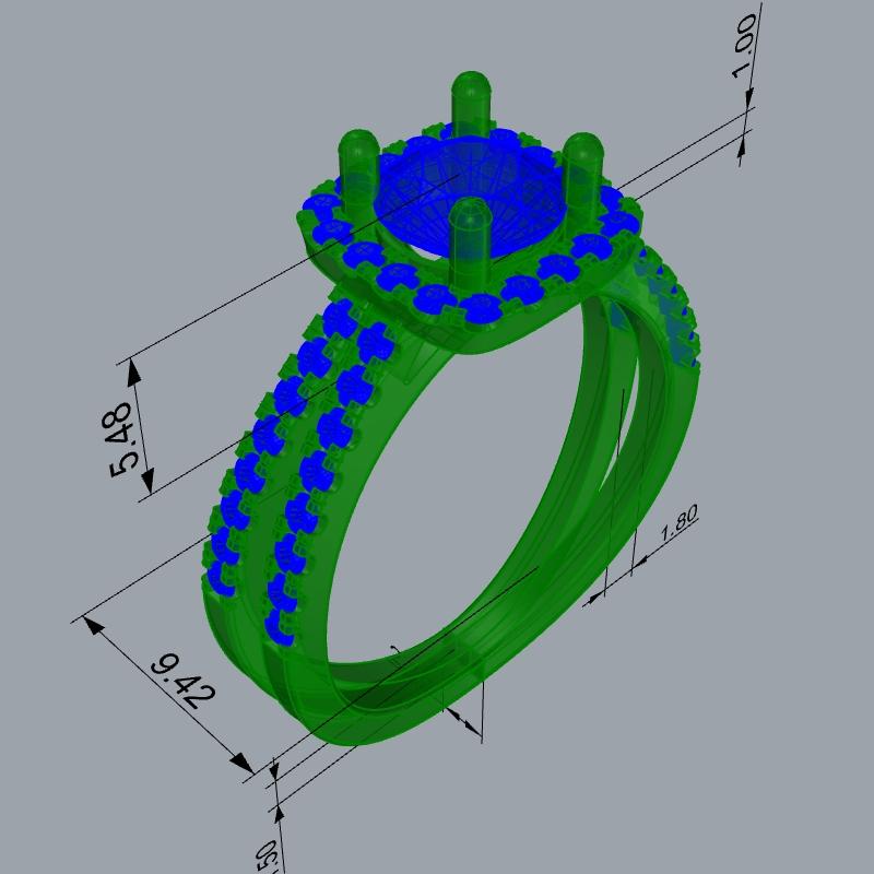 טבעת מדיסון סקיצה